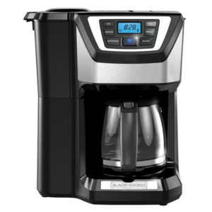 Black And Decker CM5000B Mill And Brew Coffee Maker