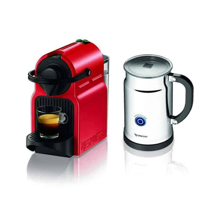 Nespresso Inissia Capsule Espresso Maker Review  Coffeeble -> Nespresso Inissia Bundle